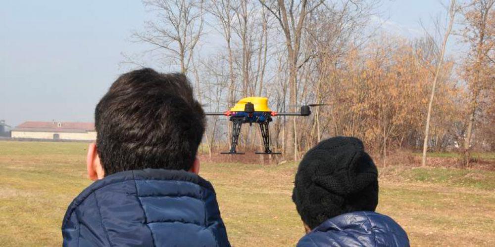 Venture T: il primo drone ottimizzato per le scuole volo